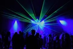 Party Licht- und Laserinstallation